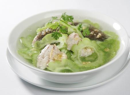 Khổ qua nấu cá trắm – món ăn thanh nhiệt, kích thích vị giác