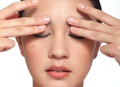 Xoa bóp cải thiện các bệnh về mắt