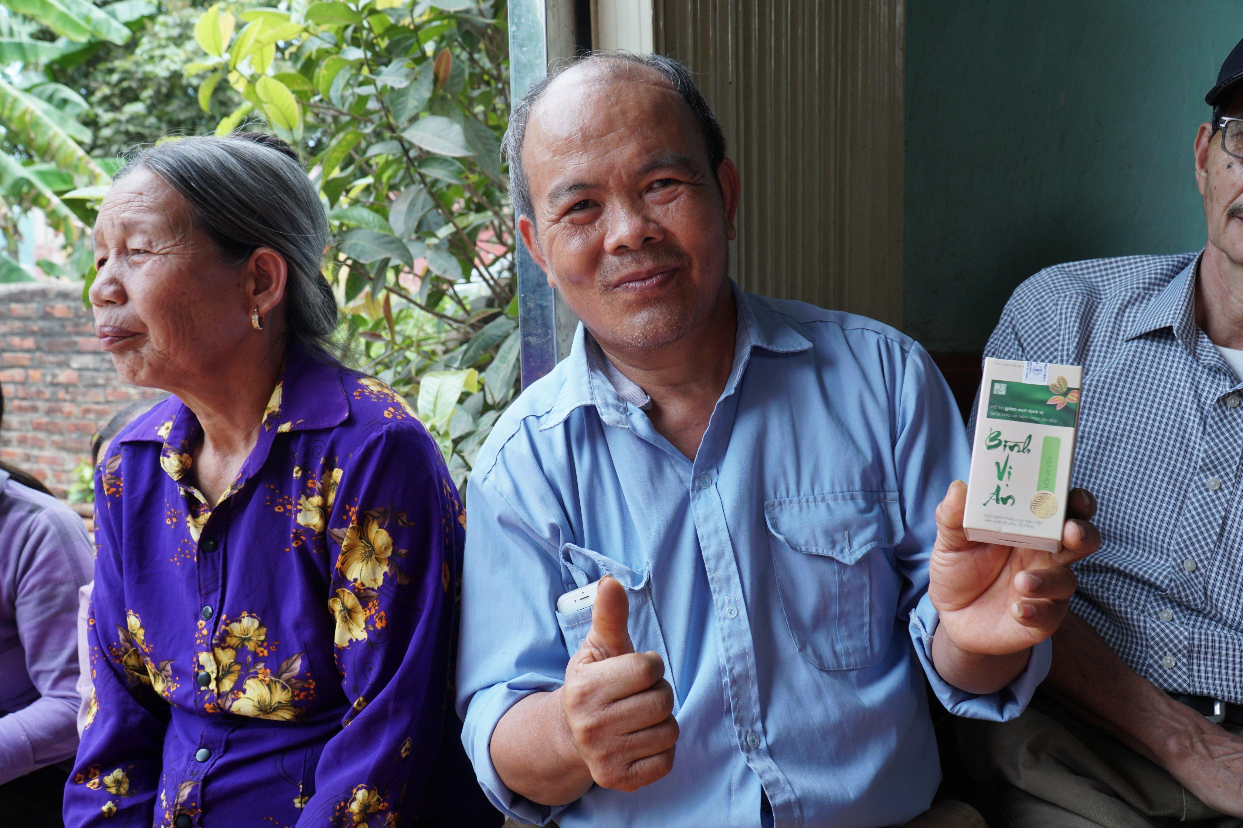 Lương y Nguyễn Đăng Ký và bài thuốc trị dứt điểm đau dạ dày
