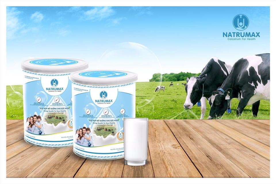 Sữa non Natrumax – Nguồn sữa non bổ dưỡng đem lại sức khỏe cho mọi gia đình