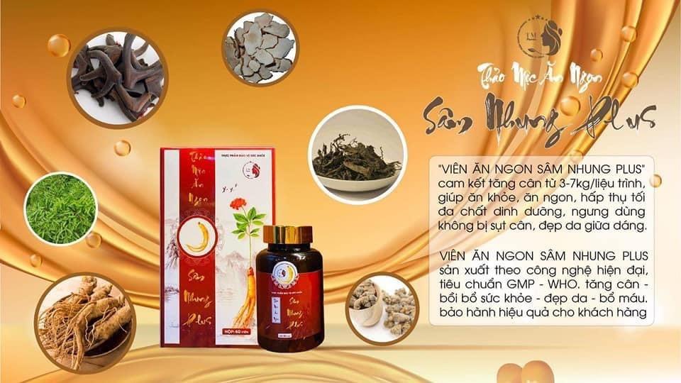Thảo mộc ăn ngon Sâm nhung Plus – Giải pháp hỗ trợ ăn ngon bảo vệ sức khoẻ số 1 của NSND Công Lý